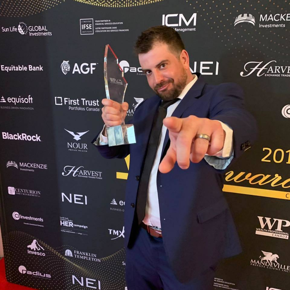Johnny Moxx Wins Digital Innovator Of The Year at Wealth Professional Awards